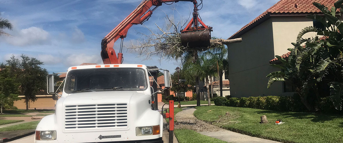 Grapple Truck Services Melbourne FL